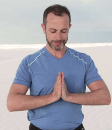 Yoga teacher Alan Kelly