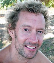 Yoga teacher James Guiseppi