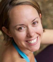 Yoga teacher Kate Walker