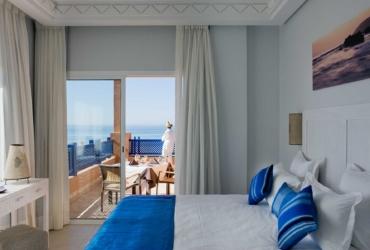 Interior of the Prestige Suite at Paradis Plage