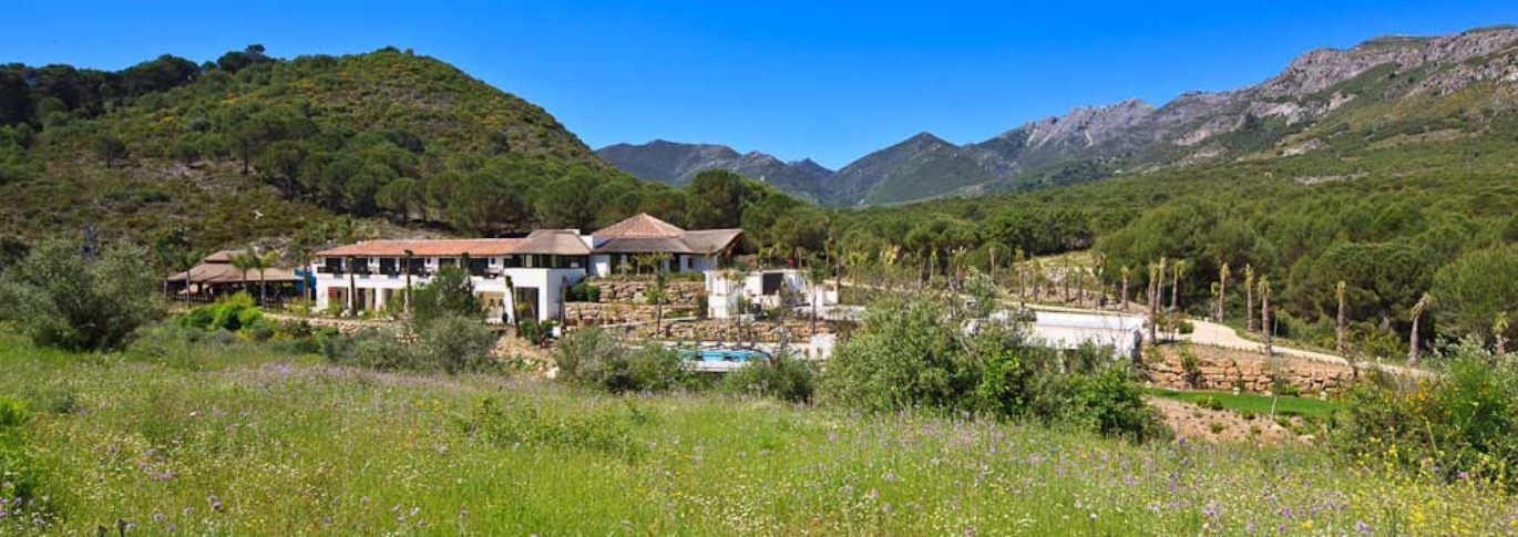 Shanti Som in the hills north of Marbella.