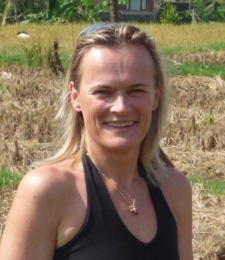 Yoga teacher Sophie Coats