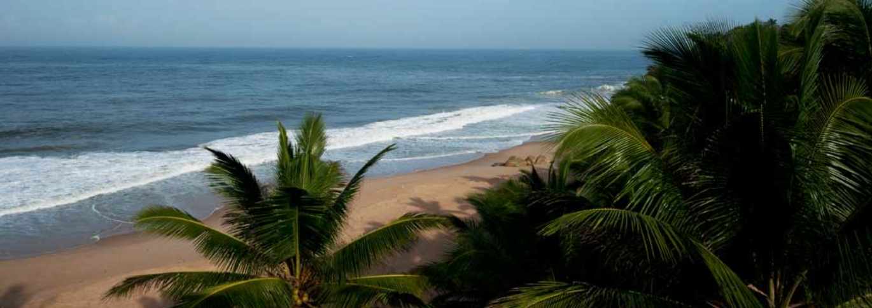 Beach near Surya Samudra