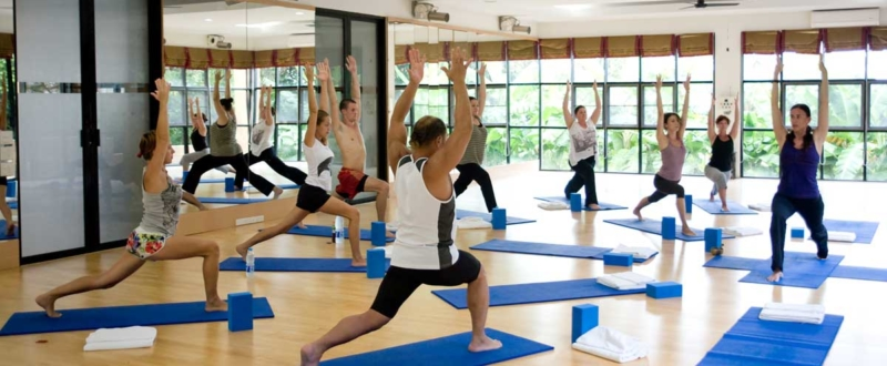 Yoga class at Absolute Sanctuary