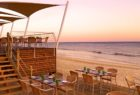 beach club restaurant at Pine Cliffs