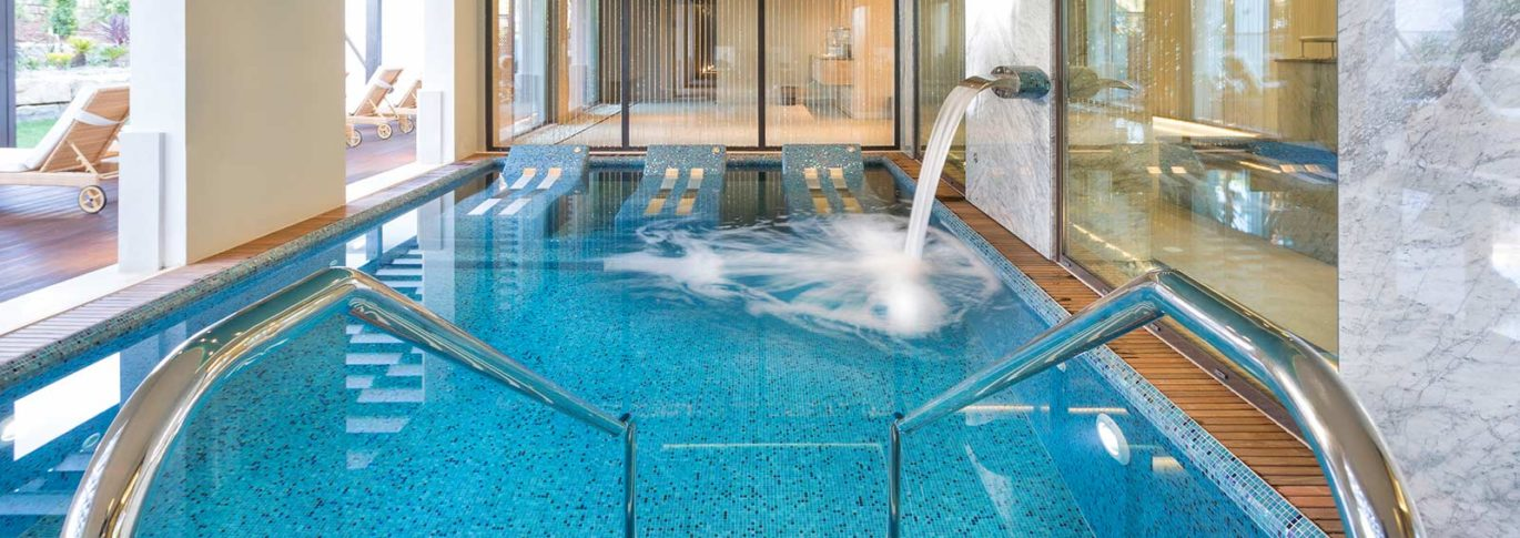 spa thermal oasis at Pine Cliffs