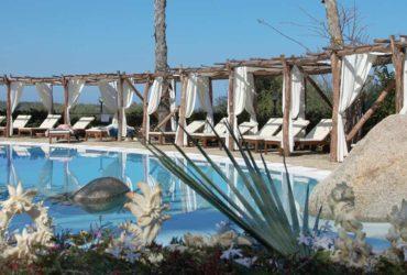 Poolside at Galanias, Sardinia