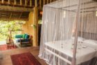 Bamboo hut at Talalla Retreat