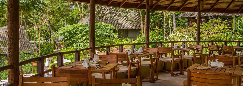 Amrita café at Kamalaya Thailand