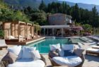 pool side at F-Zeen Kefalonia Greece