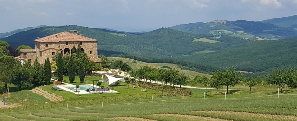 View of Cugnanello, Tuscany