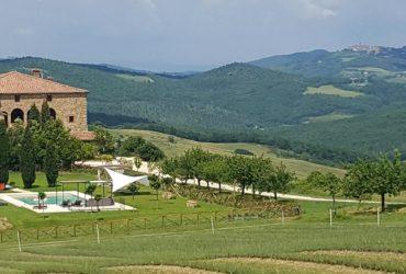 View of Cugnanello, Tuscany