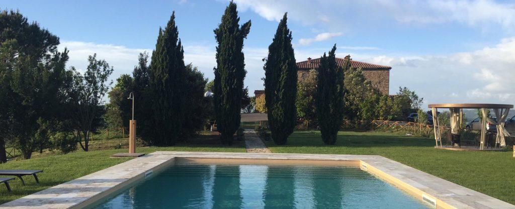Pool at Cugnanello, Tuscany