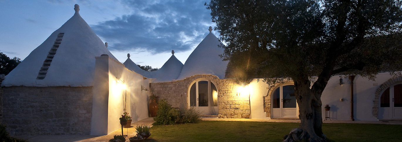 Nightime at la Rosa, Puglia
