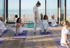 Yoga class in Morocco