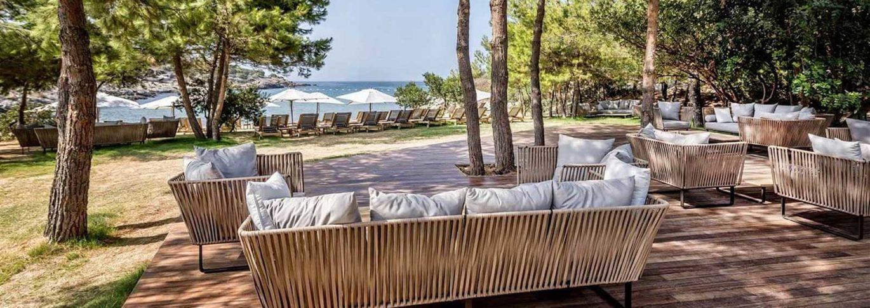 Kucuk beach lounge at Kaplankaya