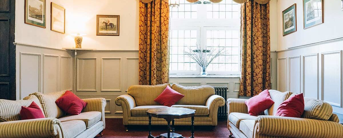Brympton House sitting room
