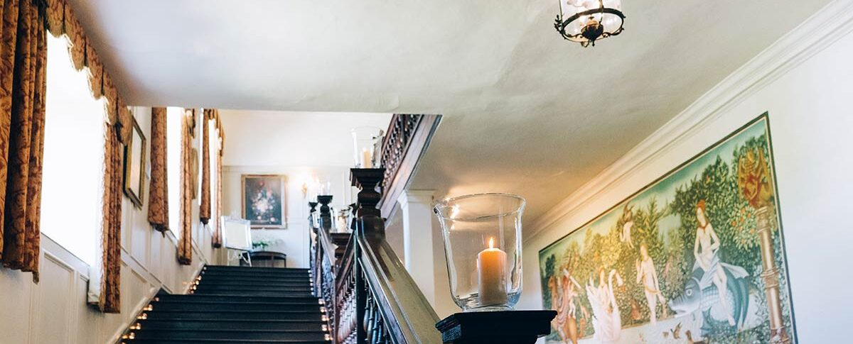 Brympton House stairs