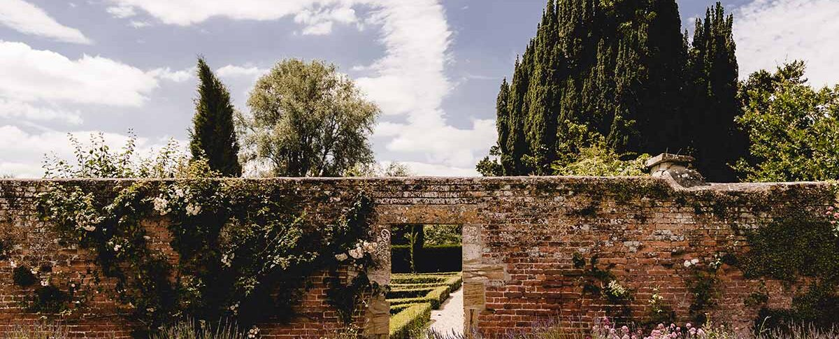 Brympton House walled garden