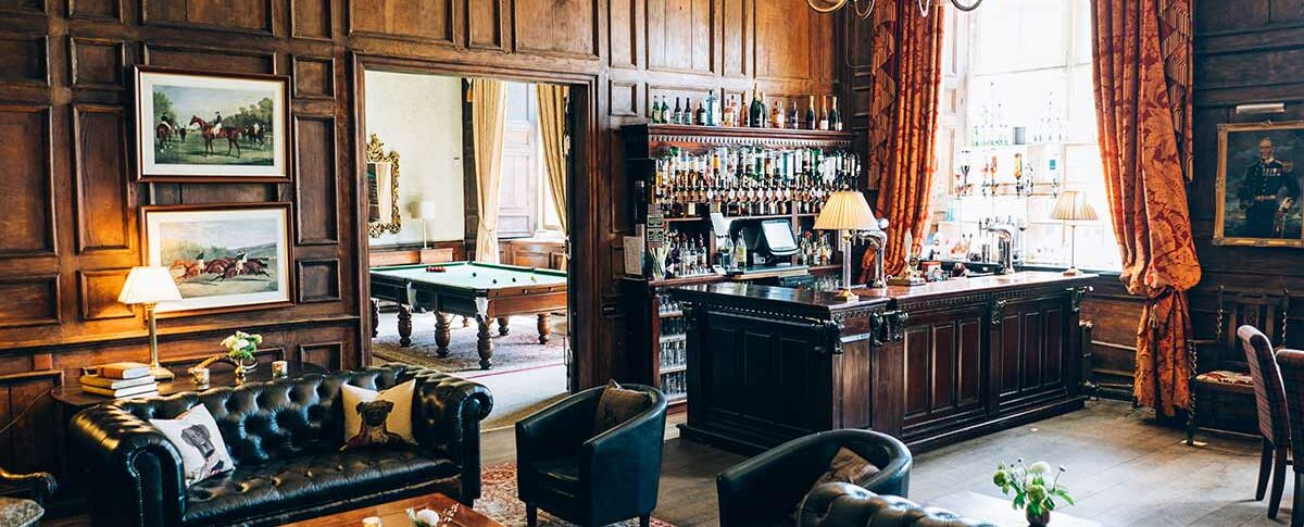 Brympton House bar