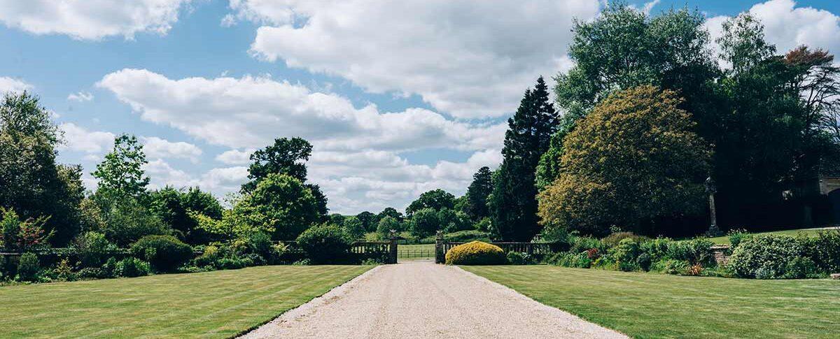 Brympton House driveway