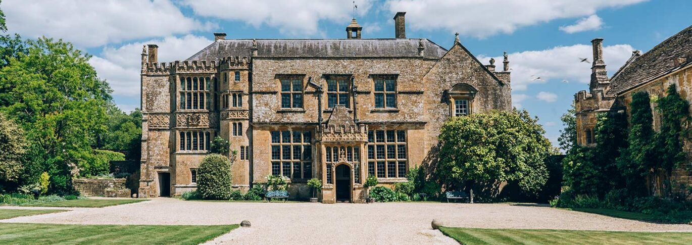 Brympton House front entrance